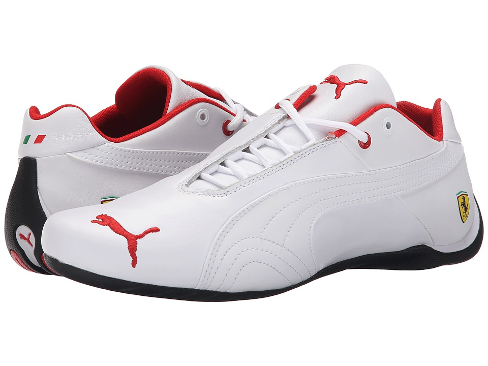 PUMA - Future Cat Leather SF - (White/White) Men