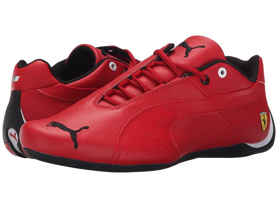 PUMA - Future Cat Leather SF - (Rosso Corsa/Rosso Corsa) Men's Shoes