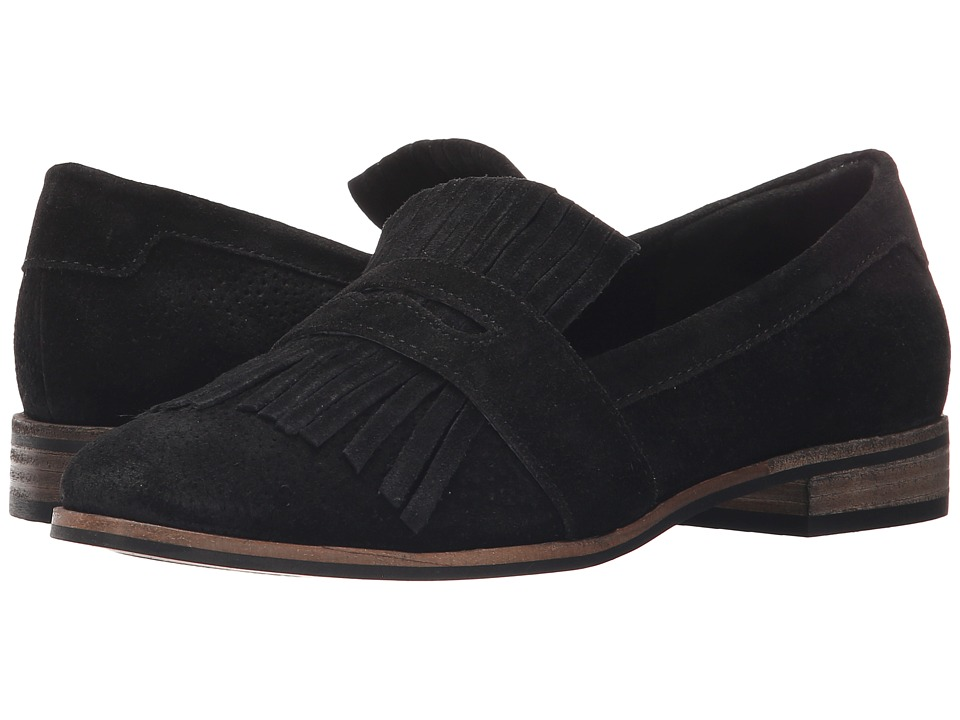 Seychelles - Stray (Black) Women's Slip on Shoes
