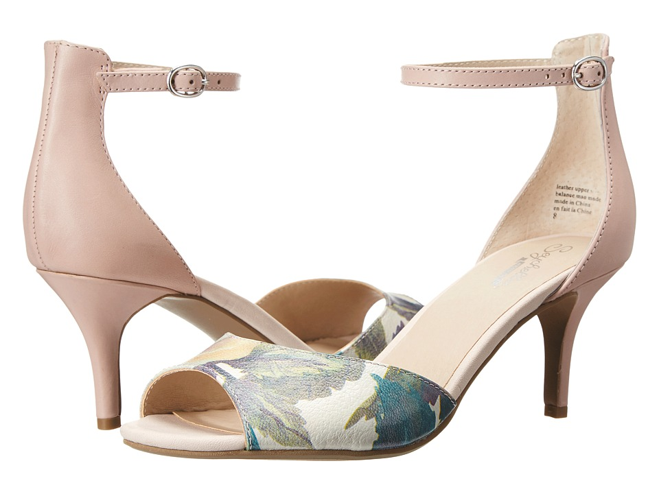Seychelles - Hazel (Light Floral/Pink Leather) High Heels