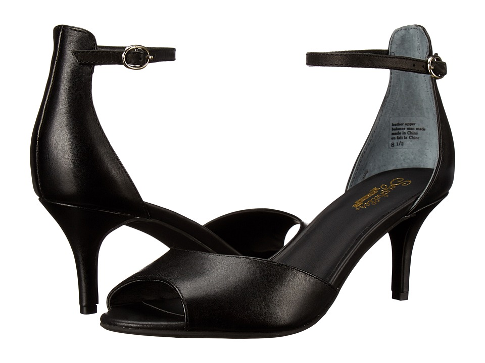 Seychelles Hazel (Black Leather) High Heels