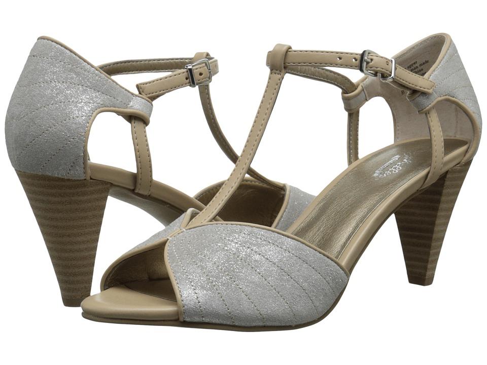 Seychelles - U-Turn (Silver/Vacchetta) High Heels