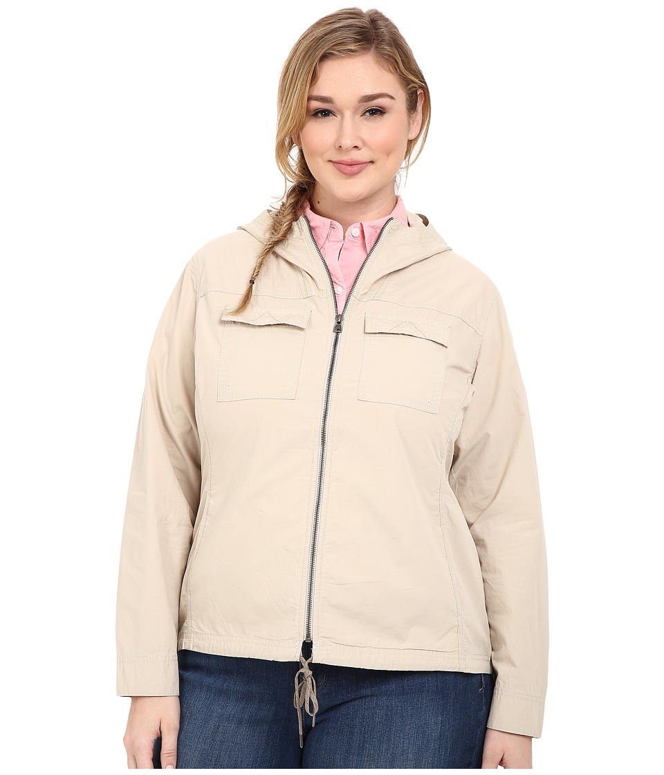 Columbia - Plus Size Down the Path Jacket (Fossil) Women's Coat