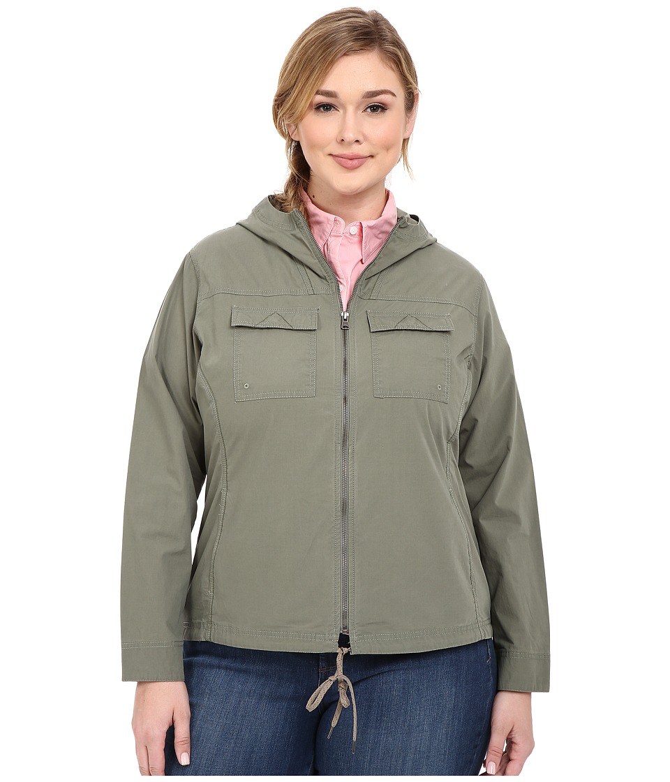 Columbia - Plus Size Down the Path Jacket (Cypress) Women's Coat