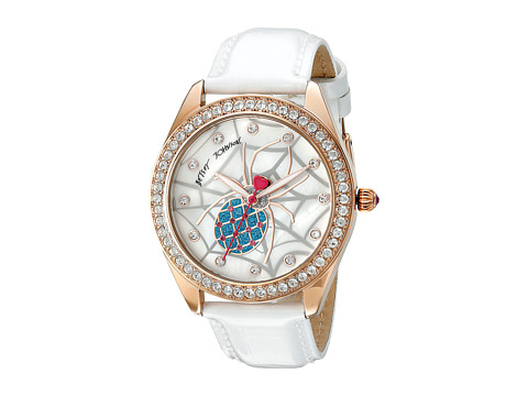 Betsey Johnson - BJ00048-139 (Gold/White) Watches
