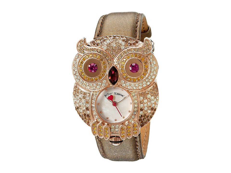 Betsey Johnson - BJ00555-04 (Gold) Watches