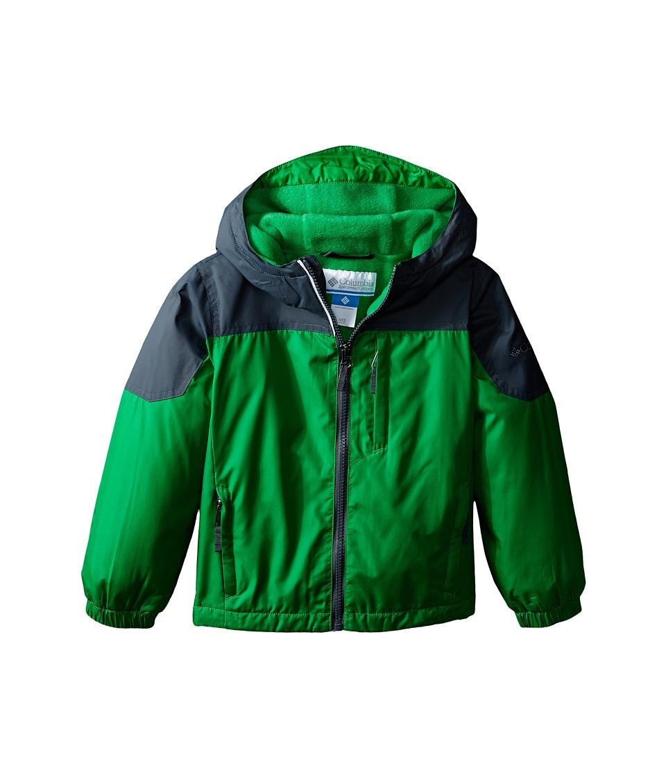 Columbia Kids - Ethan Pond Jacket (Little Kids/Big Kids) (Fuse Green) Boy's Coat
