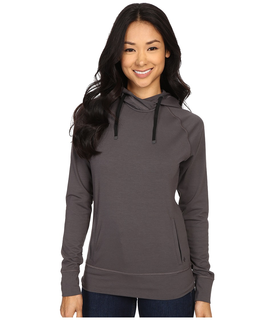 Black Diamond - Dawn Wall Hoodie (Slate) Women's Sweatshirt
