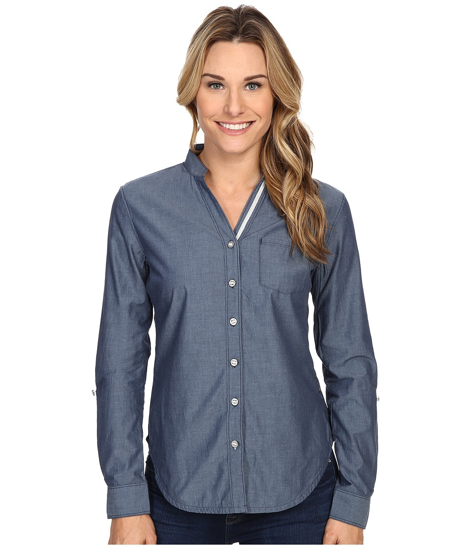 Black Diamond - Chambray Modernist Shirt (Captain) Women's Long Sleeve Button Up
