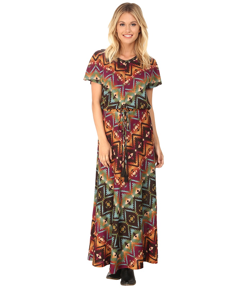 Double D Ranchwear - Chicora Blanket Dress (Multi) Women