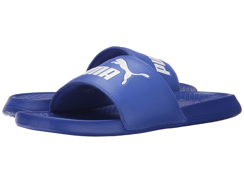 PUMA - Popcat (Dazzling Blue/White) Men