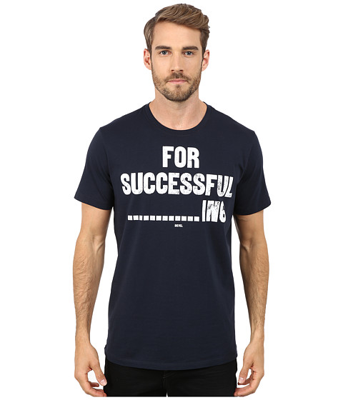 Diesel - T-Napol T-Shirt (Navy/Blue) Men