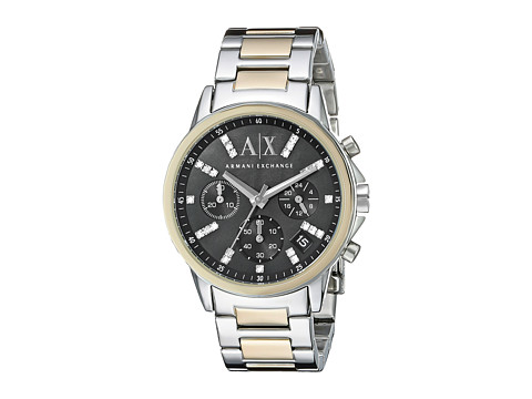 AX Armani Exchange - Banks - AX4329 (Gold/Silver Two-Tone) Watches