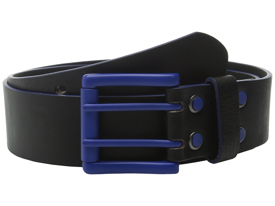 Image of Bill Adler 1981 - Electric Flag (Black/Blue) Men's Belts