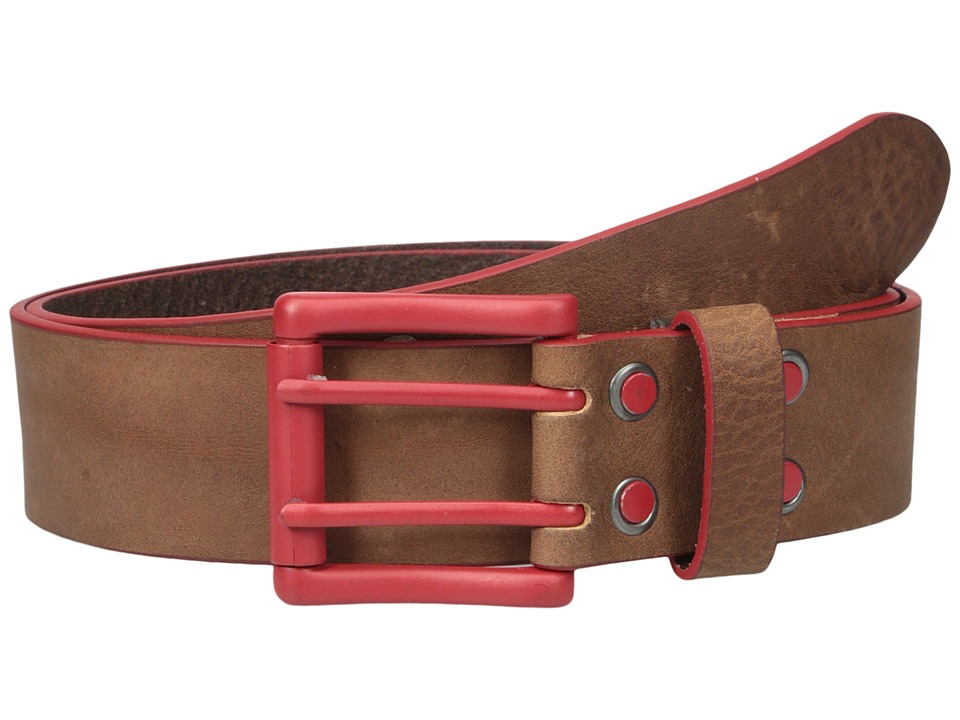 Bill Adler 1981 - Electric Flag (Brown/Red) Men's Belts