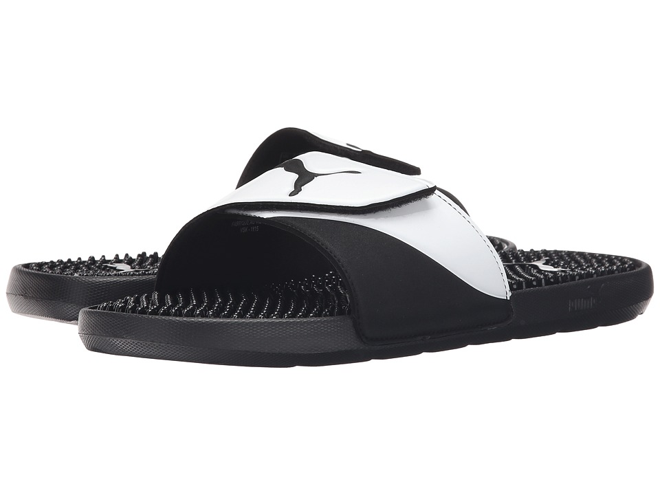PUMA - Starcat TPR (Black/White) Men's Sandals