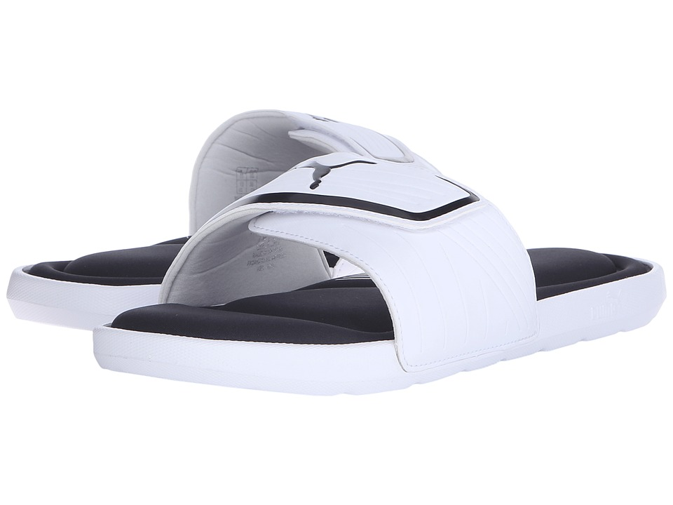 PUMA - Starcat Mfoam (White/Black) Men
