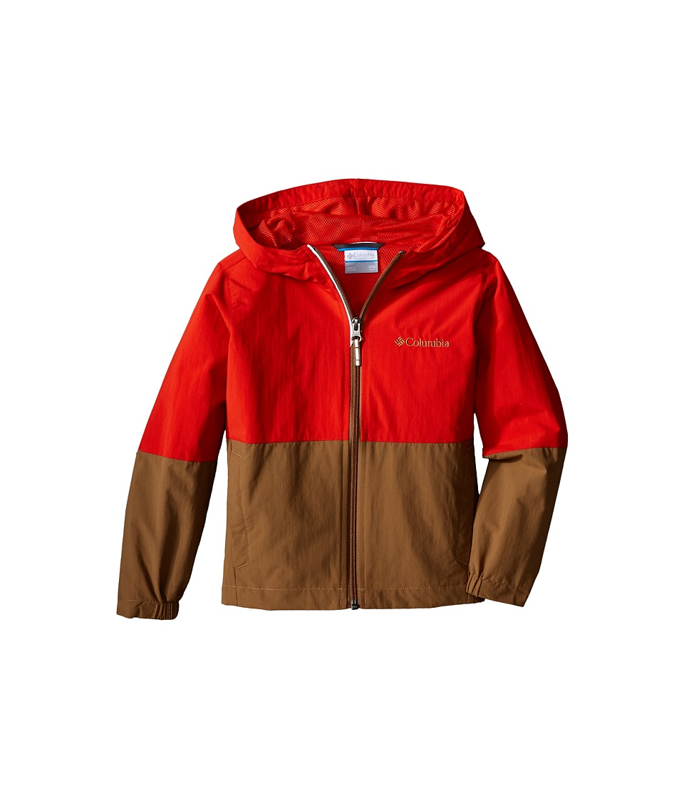 Columbia Kids - Bail on the Trail Jacket (Little Kids/Big Kids) (Super Sonic/Delta) Boy's Coat