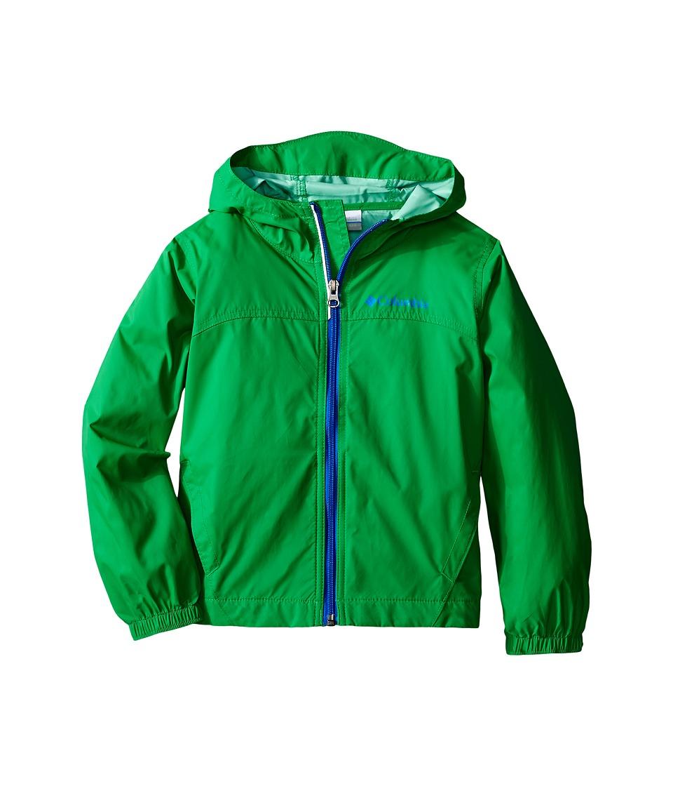 Columbia Kids - Glennaker Rain Jacket (Little Kids/Big Kids) (Fuse Green) Boy's Coat