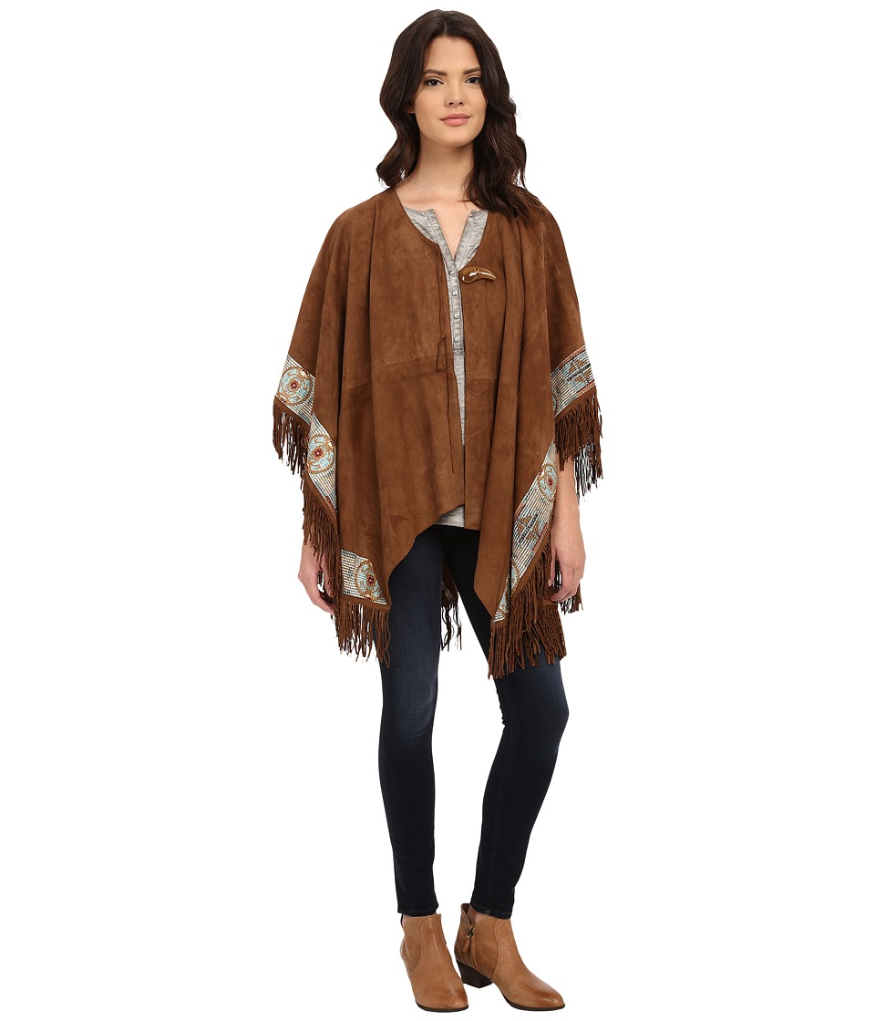 Double D Ranchwear - Fire Guardian Poncho (Chickory) Women's Clothing