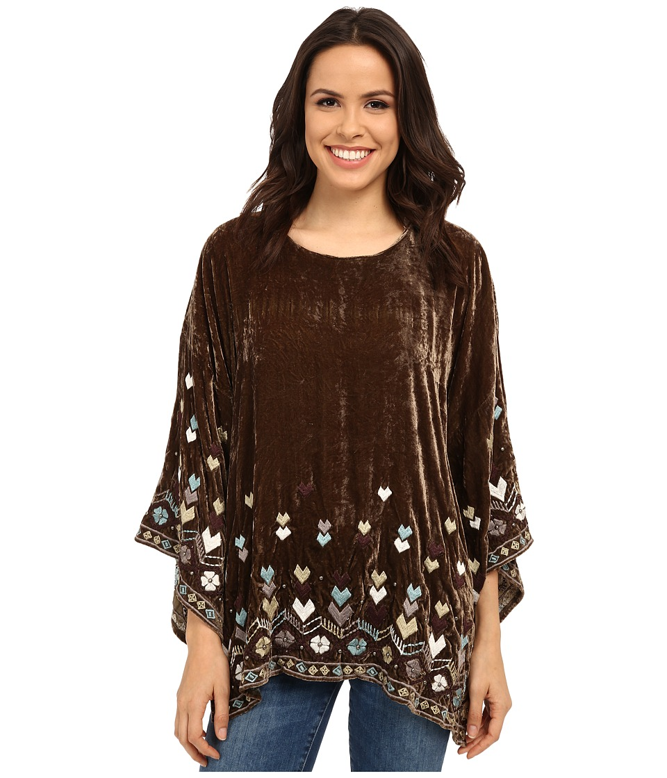 Double D Ranchwear - Rain Walker Top (Chickory) Women's Blouse