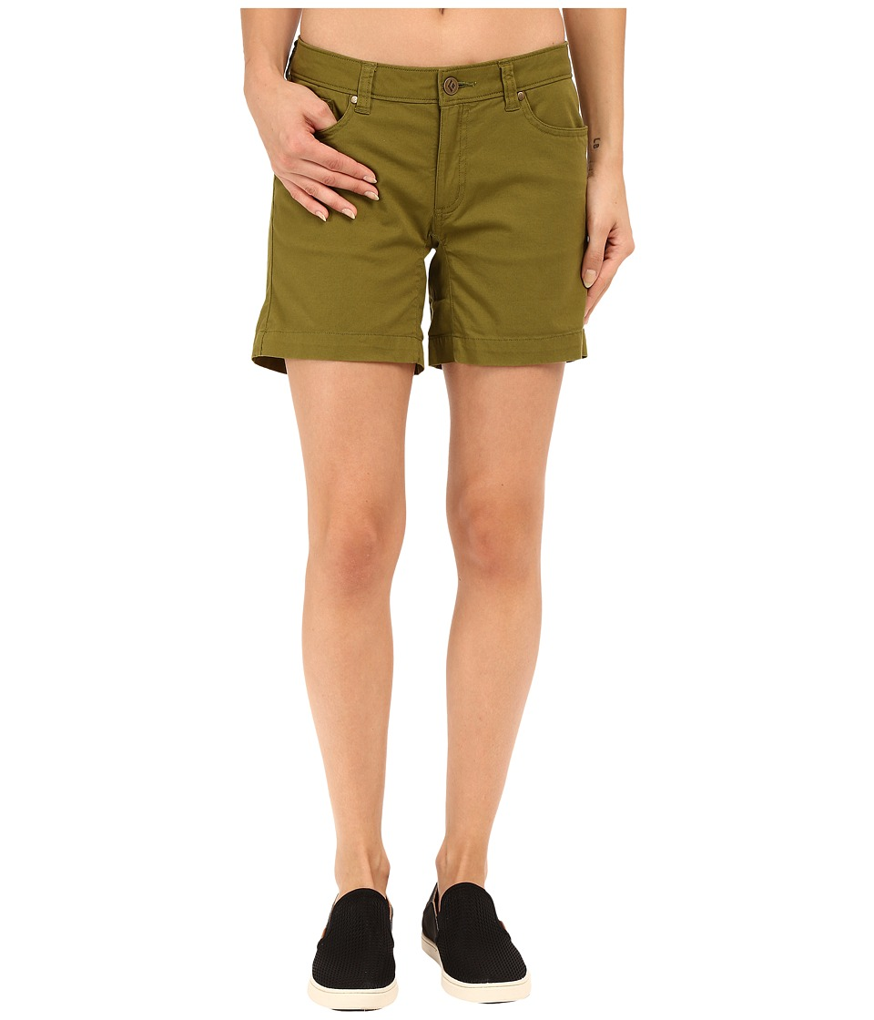 Black Diamond - Stretch Font Shorts (Sage) Women's Shorts