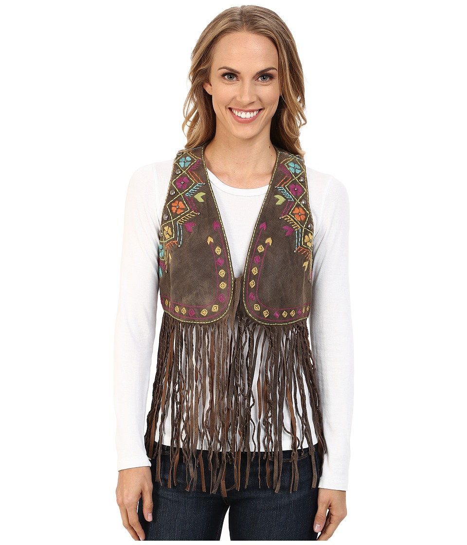 Double D Ranchwear - Paco Vest (Brown) Women's Vest