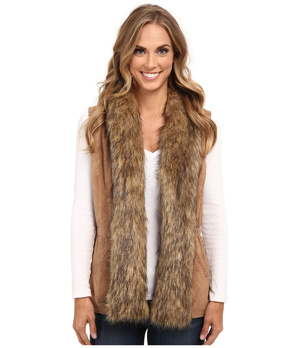 Double D Ranchwear - Saddle Maker Vest (Doeskin) Women's Vest