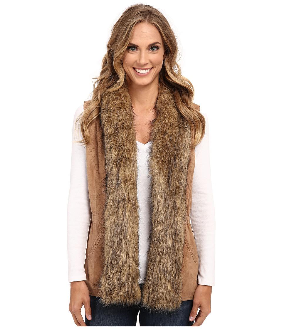 Double D Ranchwear - Saddle Maker Vest (Doeskin) Women's Vest