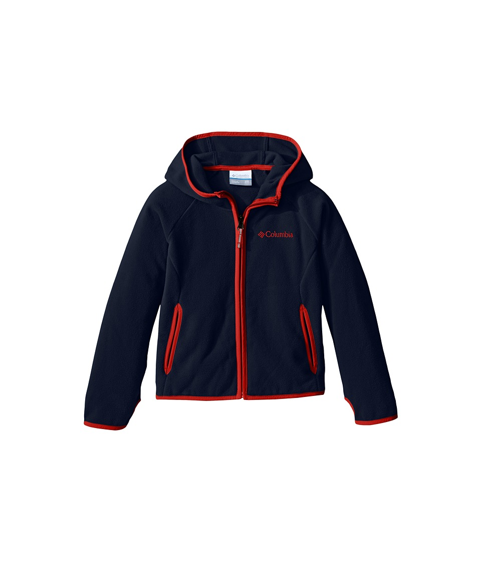 Columbia Kids - Fast Trektm Hoodie (Little Kids/Big Kids) (Collegiate Navy) Boy's Sweatshirt
