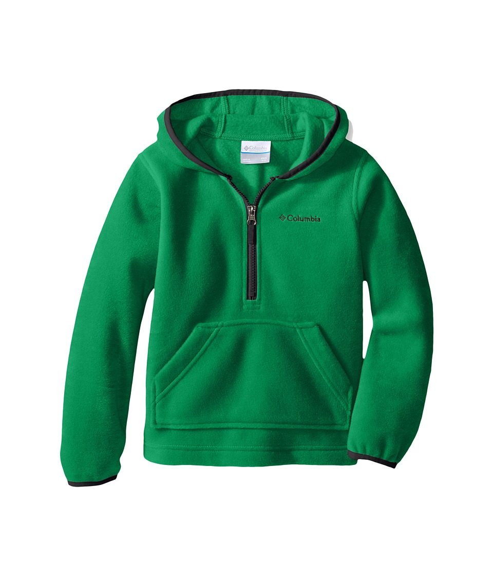 Columbia Kids - Elm Lake Fleece Hoodie (Little Kids/Big Kids) (Fuse Green/Graphite) Boy's Sweatshirt