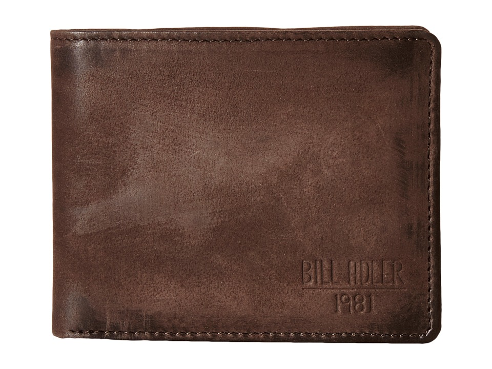 Bill Adler 1981 - Nubuck Bill fold (Brown) Bill-fold Wallet