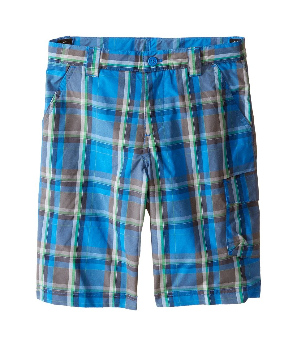 Columbia Kids - Silver Ridge III Plaid Shorts (Little Kids/Big Kids) (Super Blue Plaid) Boy's Shorts