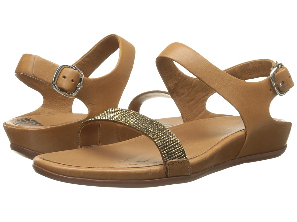 FitFlop - Banda Micro-Crystal Sandal (Tan) Women's Shoes