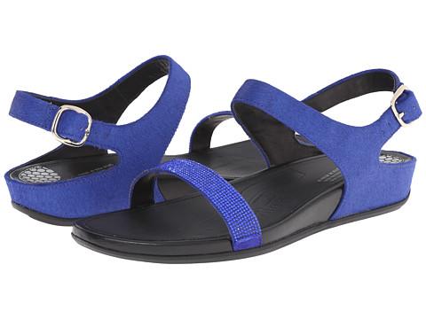 FitFlop - Banda Micro-Crystal Sandal (Mazarine Blue) Women