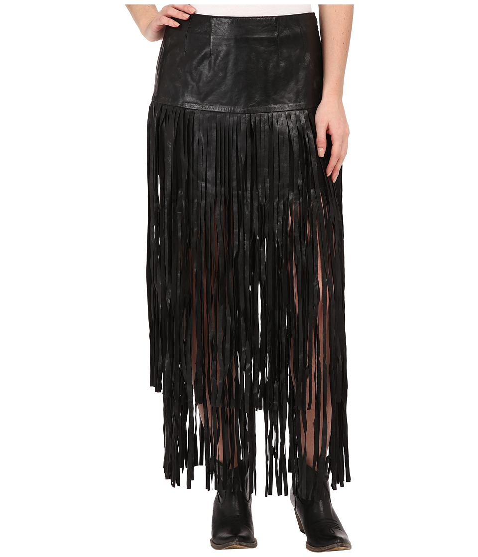 Double D Ranchwear - Paco Skirt (Black) Women's Skirt