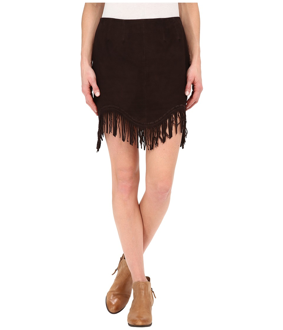 Double D Ranchwear - Dream Wolf Skirt (Snuff) Women's Skirt