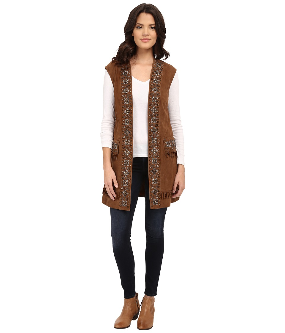Double D Ranchwear - The Broadmoor Vest (Chicory) Women's Vest