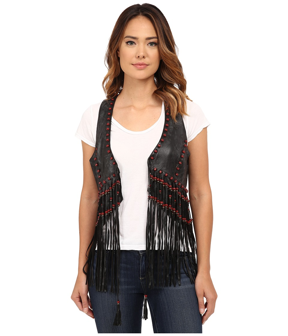 Double D Ranchwear - Great Spirit Vest (Black) Women's Vest