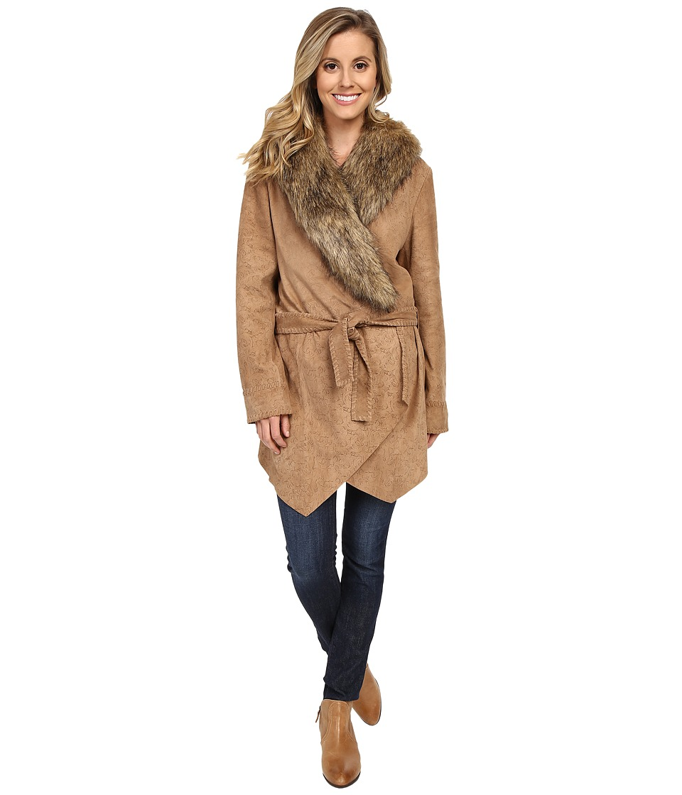 Double D Ranchwear - Saddle Maker Jacket (Doeskin) Women's Coat