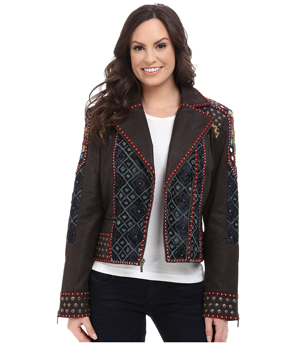 Double D Ranchwear - Abenaki Jacket (Black) Women's Coat