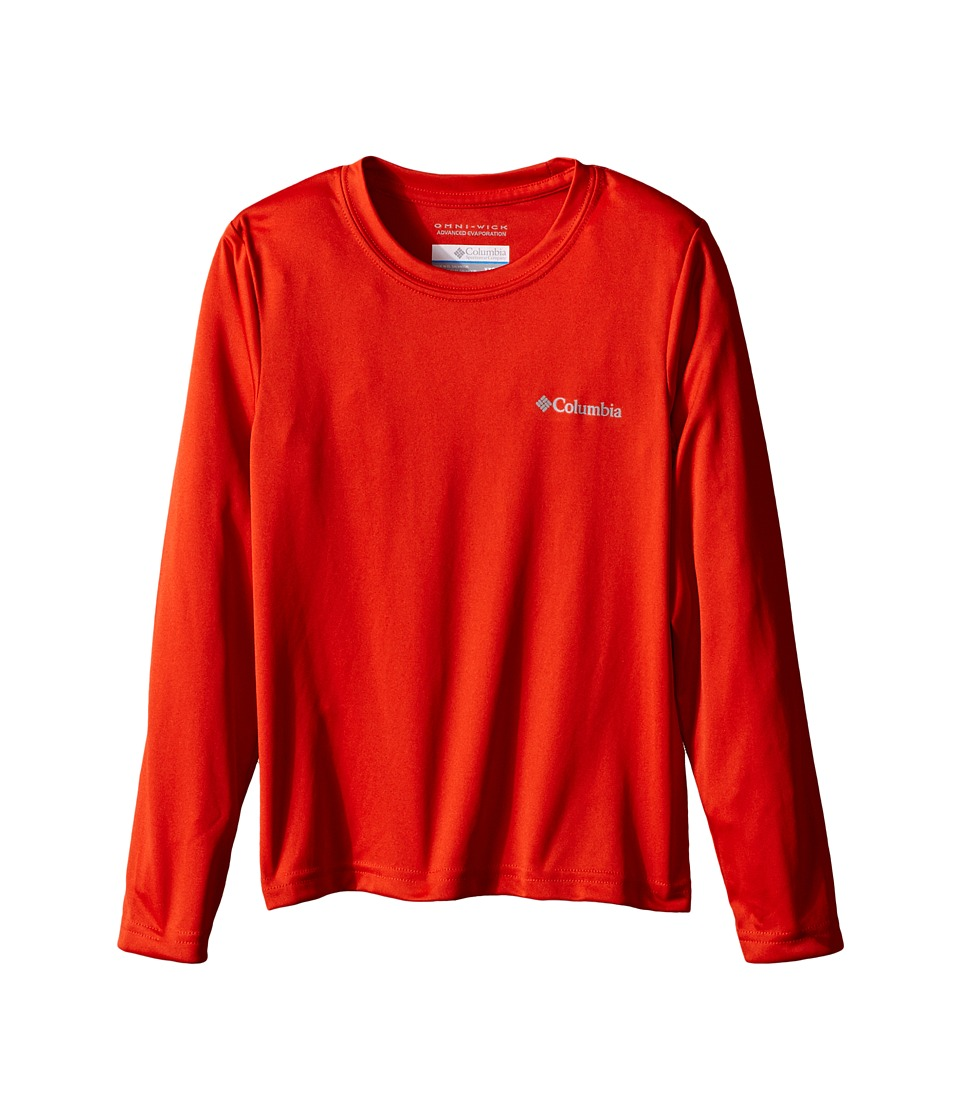 Columbia Kids - Terminal Tackle L/S Tee (Little Kids/Big Kids) (Super Sonic) Boy's Long Sleeve Pullover