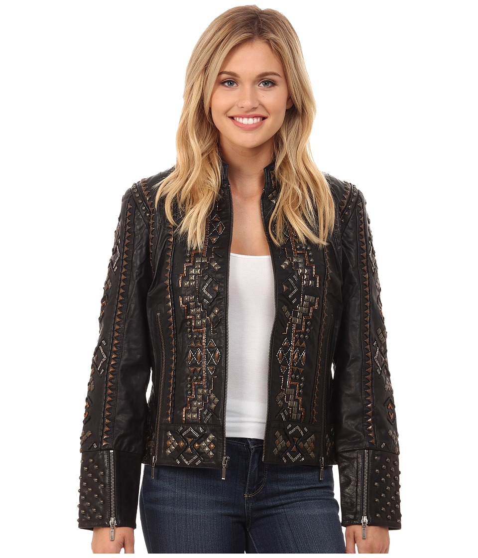 Double D Ranchwear - Reflections Jacket (Black) Women's Coat