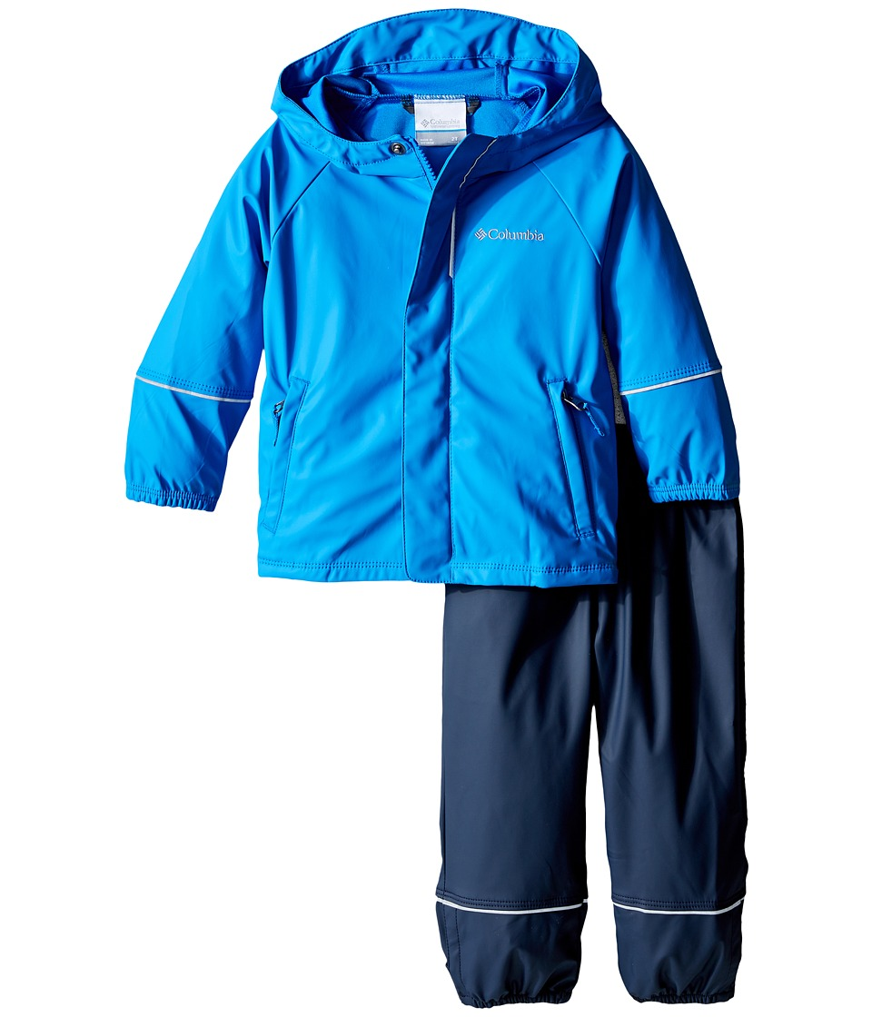 Columbia Kids - Wet Reflect Rain Set (Toddler) (Hyper Blue) Boy