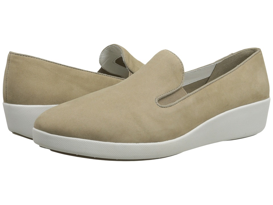 FitFlop - F-Pop Skate Nubuck (Timberwolf) Women