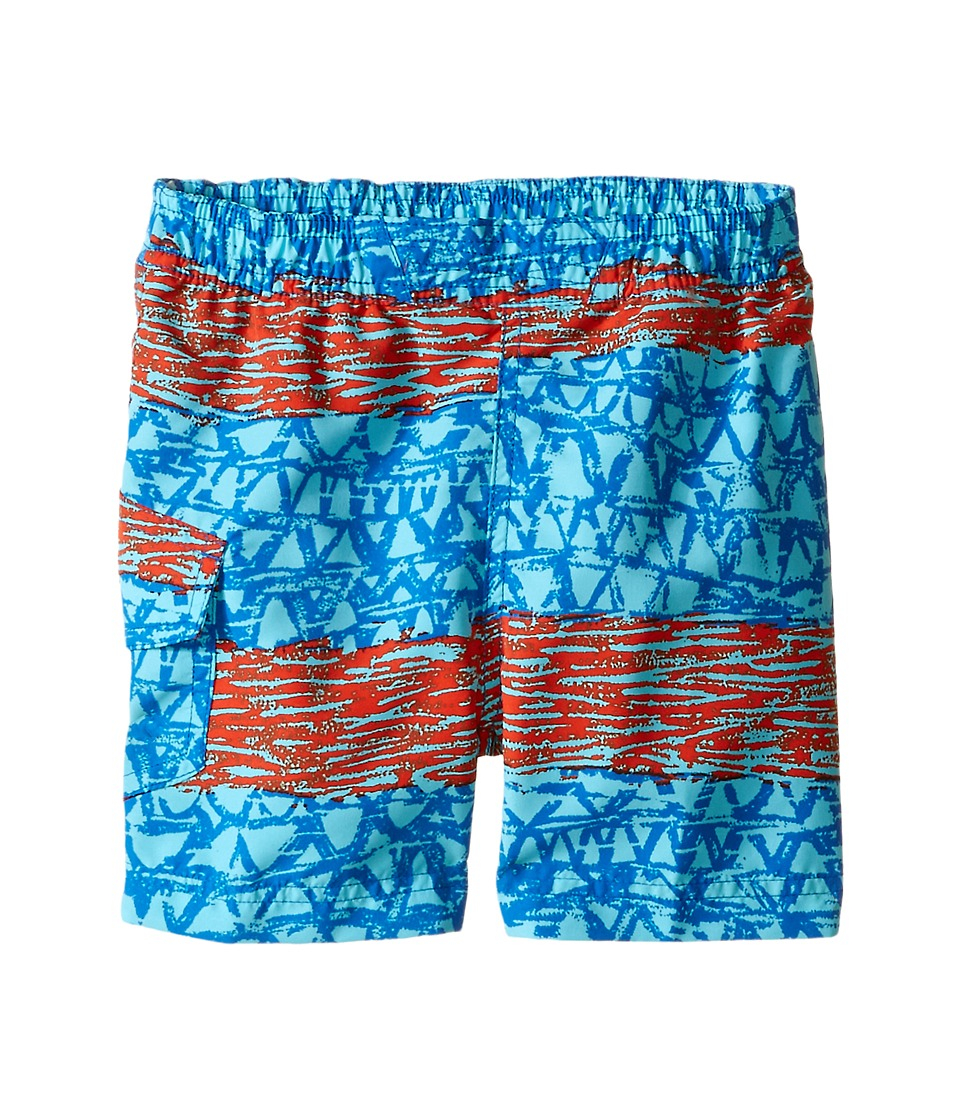Columbia Kids - Solar Stream II Boardshort (Toddler) (Super Blue Wavy) Boy's Swimwear