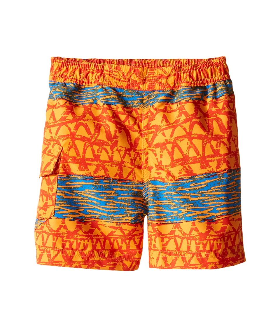 Columbia Kids - Solar Stream II Boardshort (Toddler) (Solar Wavy Print) Boy's Swimwear