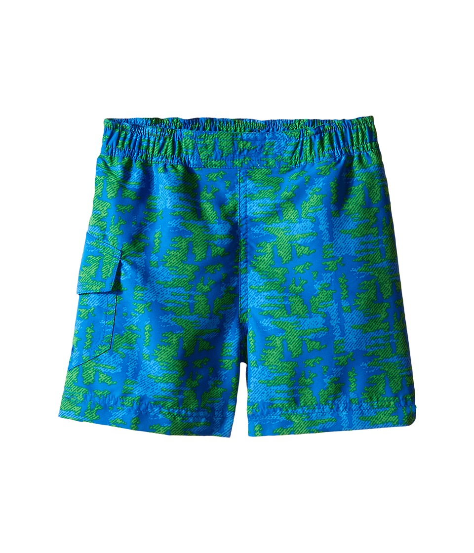 Columbia Kids - Solar Stream II Boardshort (Toddler) (Super Blue Tree) Boy's Swimwear