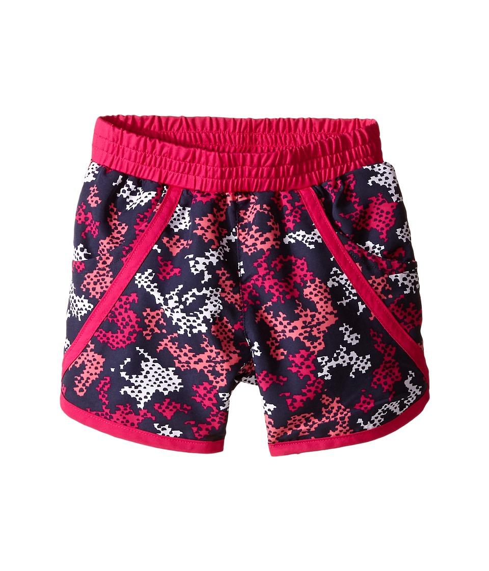 Columbia Kids - Solar Stream II Boardshort (Toddler) (Haute Pink Camo) Girl's Swimwear