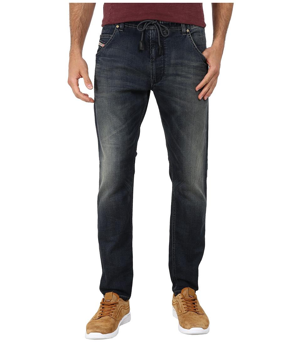 Diesel - Krooley-Ne Sweat Jeans 0666V (Denim) Men's Jeans